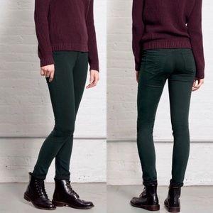 rag & bone legging jeans skinny scarab green